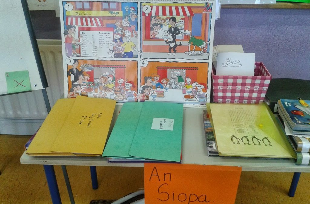 Teaching Practice- Displays/ Early Finishers Table