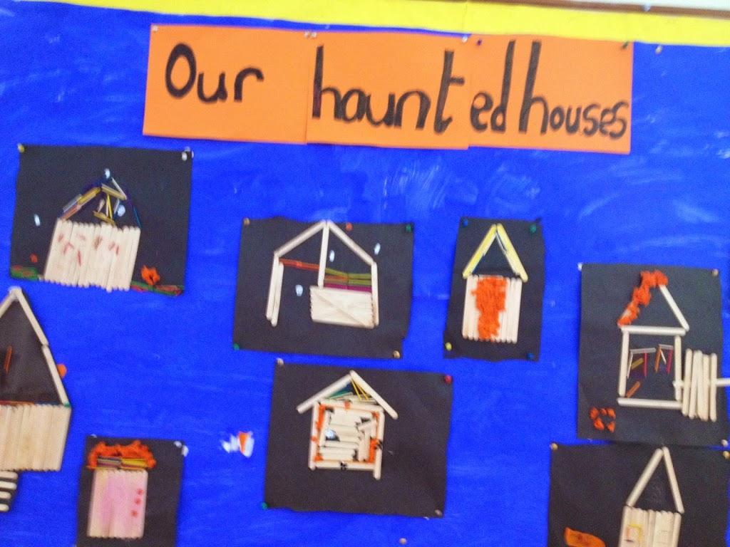 Halloween Art – Fourth Class