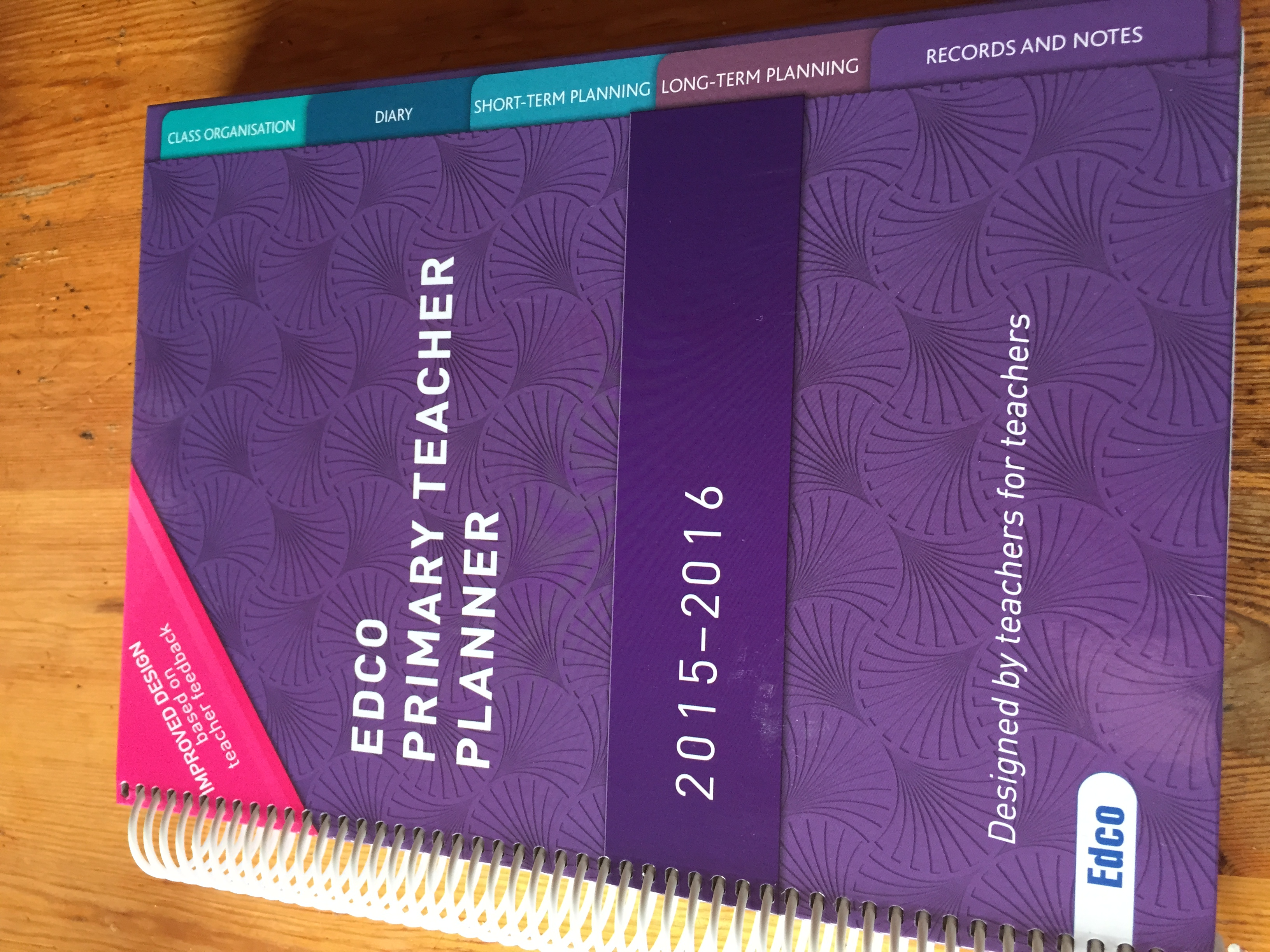 Review of the Edco Teacher Planner 2016
