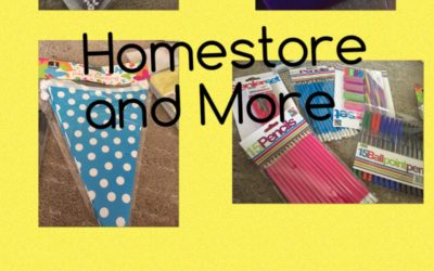 Homestore and More Classroom Purchases