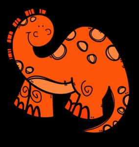 Dinosaur_Orange