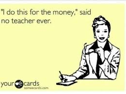 Teachers Spending Own Money on School Supplies?
