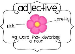 Grammar Pack Week One: Adjectives 1st and 2nd Class